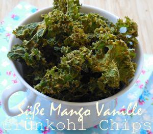 Süße Mango Vanille Grünkohl Chips