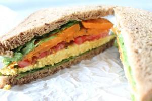 Sattmacher für unterwegs: Süßkartoffel-Sandwich