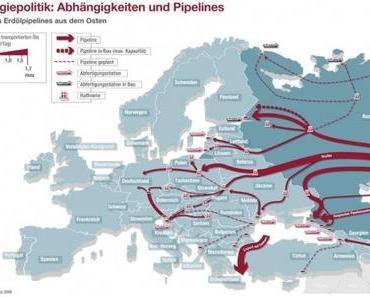 Ukraine enteignet russische Erdölleitung