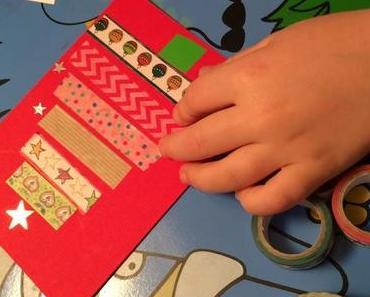 Schreibt mal wieder: Weihnachtskarten selbst gemacht