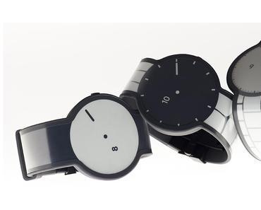 Sonys experimentiert mit E-Papier Uhr