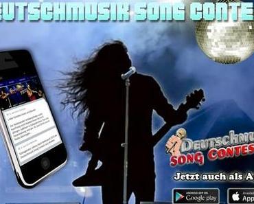 Deutschmusik Song Contest gibt es jetzt auch als kostenlose Smartphone-App