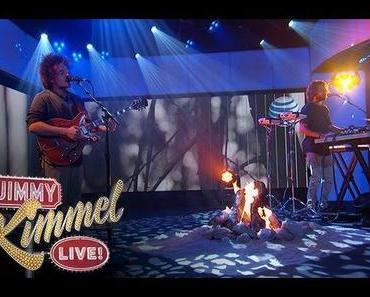 "Milky Chance performen ""Stolen Dance"" LIVE @ Jimmy Kimmel"