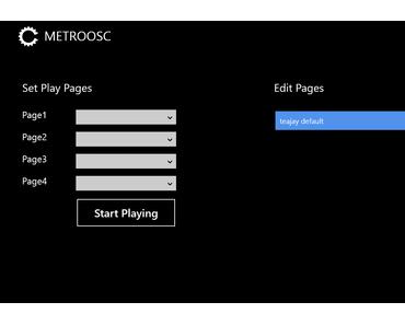 MIDI Controller wie Deadmau5: Metro OSC und Windows 8 machen's möglich