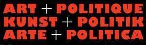 """""""Kunst + Politik"""""""