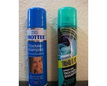 Trocken-Shampoo   Balea vs. Swiss o Par