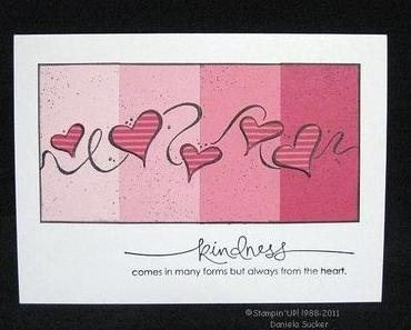 Stampin'UP! ~ kindness …..