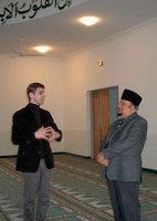 In der Khadija-Moschee in Heinersdorf