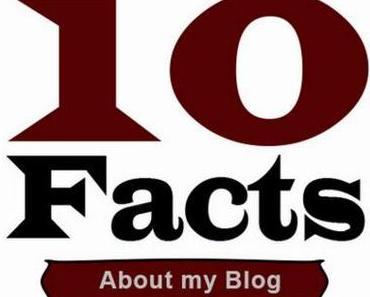 Ten Facts About My Blog – Zehn Fakten über meinen Blog