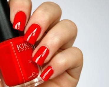 [lacke in farbe...und bunt!] kiko - orange red (nr 236)