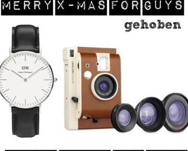 "Merry Christmas: Geschenkideen & -inspirationen ""Watch and Picture it"""