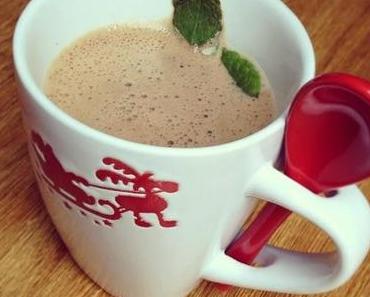 Heiße Drinks für kalte Tage: erfrischend süße Hot Mint Chocolate