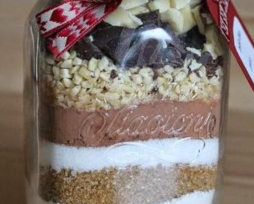 Cookie-Backmischung im Glas