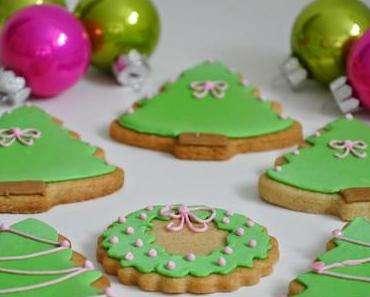 Weihnachts-Kekse mit Royal Icing