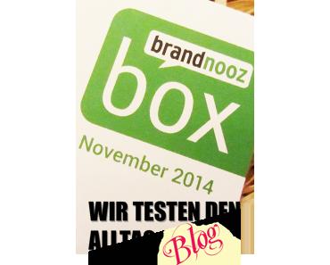 [BRANDNOOZ] November 2014 Box