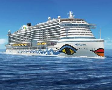 AIDAprima der Neubau von AIDA Cruises bekommt eine eigene Eisbahn - allerdings wird Sie saisonal betrieben!