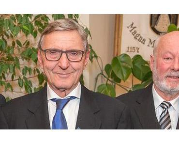 Goldene Ehrennadel für Ing. Hugo Sampl & Dr. Winfried Wagner