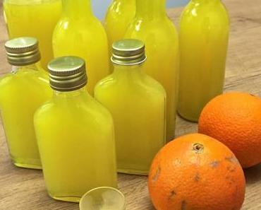 Sizilianische Orangen + Alkohol = Orancello