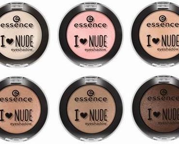 "essence trend edition ""I love nude"""