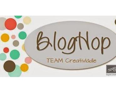 Team Blog Hop zum Start des neuen Stampin UP Frühlingskataloges und Sale A Bration