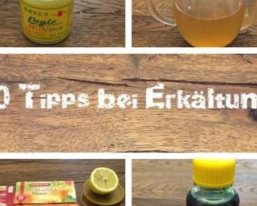 10 Hilfsmittel bei Erkältung