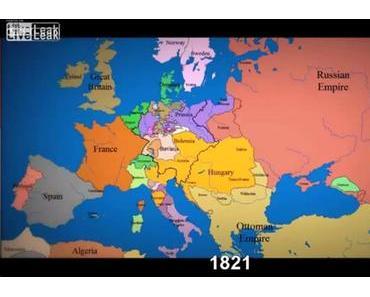 1000 Jahre europäische Geschichte in drei Minuten