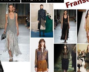 Fashion Trends Frühling 2015: Fransen