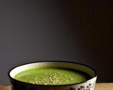 Brokkoli-Kokossuppe