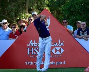 Abu Dhabi HSBC Golf Championship – Runde 1