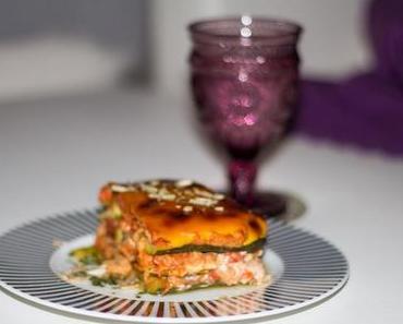 Clean Eating Soja-Zuccini-Lasagne