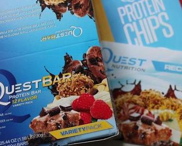 Süße Fitness-Riegel – proteinreich und glutenfrei