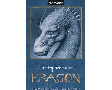 [Rezension]: Eragon – Das Vermächtnis der Drachenreiter – Christopher Paolini