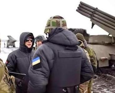 Ukrainischer Abgeordneter brüstet sich mit Raketenbeschuß auf Mariupol