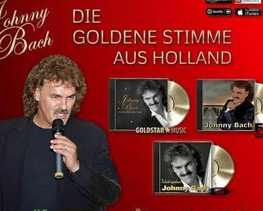 Gold und Platin für Schlagerstar Johnny Bach
