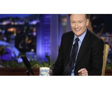 Late-Night-Show von Conan O'Brien im Minecraft Style
