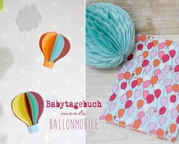 DiY Baby Mobile und Babytagebuch