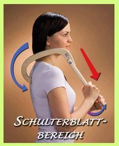 Rückenschmerzen, Verspannungen? Schon einmal das Schmerzwegholz Finnhook probiert?