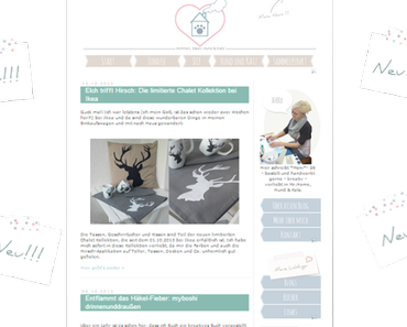 I proudly present: The new Blog(layout) is online now!
