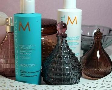 Haarpflege mit MOROCCANOIL Feuchtigkeits Shampoo und Conditioner