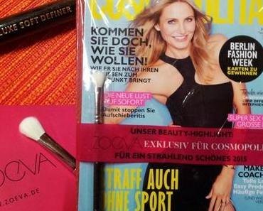 Kauftipp : Gratis Zoeva Pinsel in der Cosmopolitan
