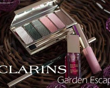 """Clarins """"Garden Escape"""" – Review, Swatches & Look"""