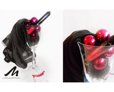 "Manhattan  Lip Laquer "" Tempting Red 20N """