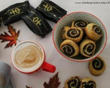 Auf einen Kaffee mit Senseo Capsules...und wunderbare Mohnschnecken