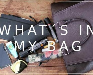what´s in my bag? my daily essentials