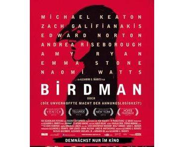 Filmkritik: Birdman oder die unverhoffte Macht der Ahnungslosigkeit (2014)