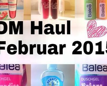 Dm Haul Februar 2015 | Balea, Maybelline und Penaten