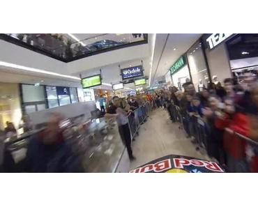 POV: Mit dem Downhill Bike durch ein Einkaufszentrum