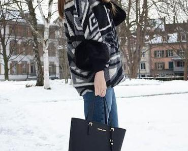 DENIM WITH GREY AND BLACK