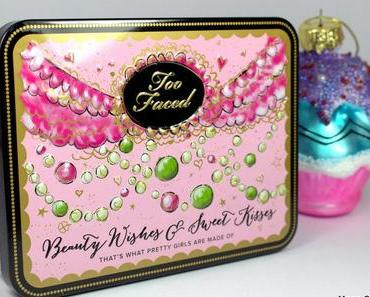 Beauty-Review: TOO FACED Beauty Wishes & Sweet Kisses Palette (Swatches und Tragebilder)