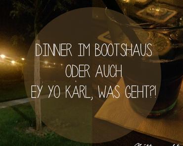 Dinner im Bootshaus Gießen